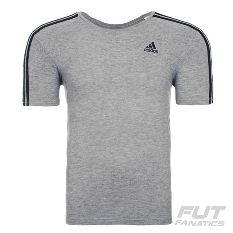 5bfb6e63b656e camiseta adidas essentials 3s cinza - futfanatics. Carregando zoom.