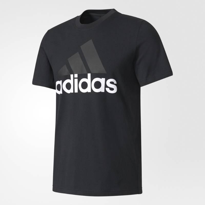 0342c381c6 camiseta adidas essentials linear tee original. Carregando zoom.