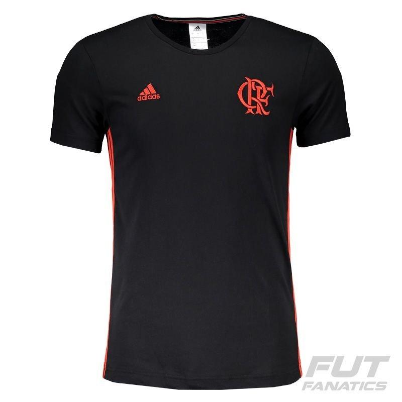 4b62eb638 camiseta adidas flamengo cr 3 stripes. Carregando zoom.