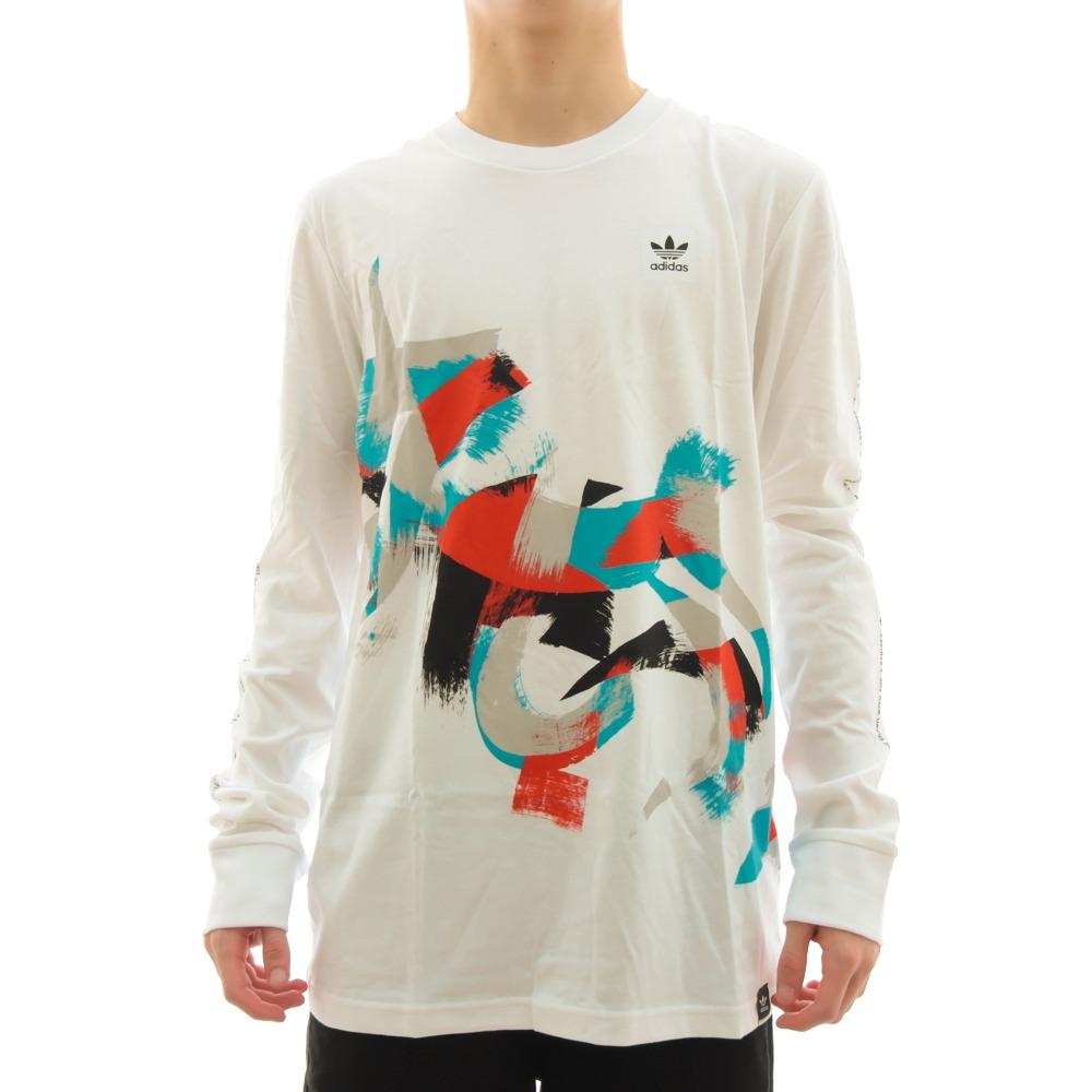 56f37bc6883 camiseta adidas manga longa courtside adidas. Carregando zoom.