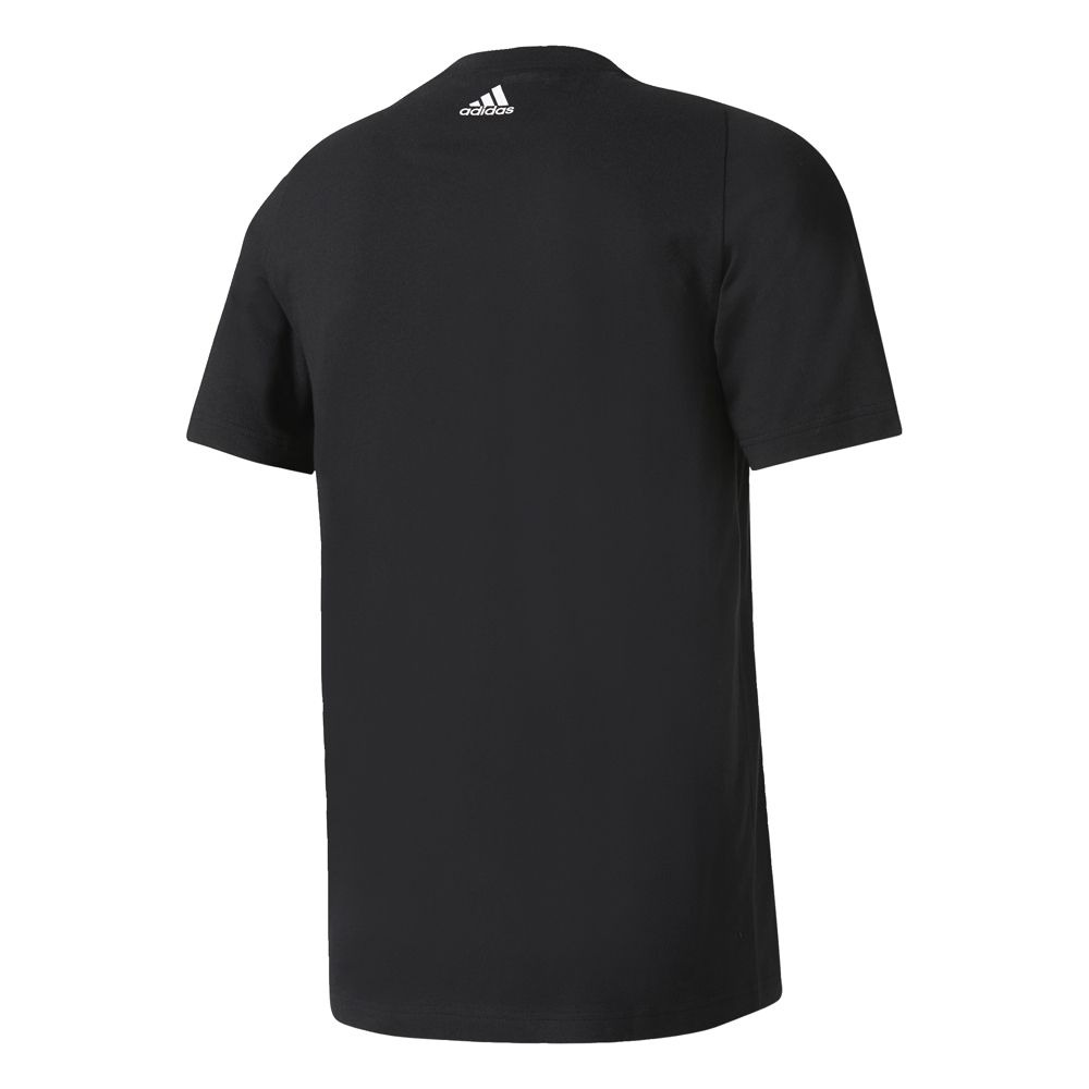 2a8f96d149 camiseta adidas masculina ess biglogo preto branco s98724. Carregando zoom.
