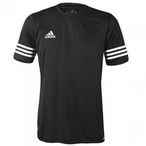 f8564337df Camiseta adidas Masculino Entrada 14 - Preto/branco