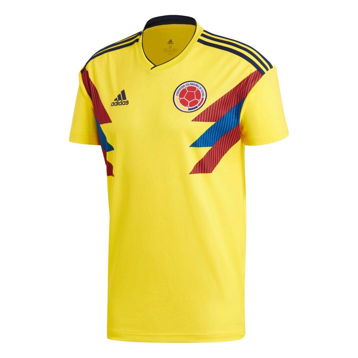 camiseta adidas of. colombia mundial 18´ hombre. Cargando zoom. f1c0042a7cb