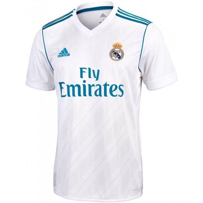 Camiseta adidas Oficial Real Madrid 17 18 Hombres -   1.000 457a01615552c