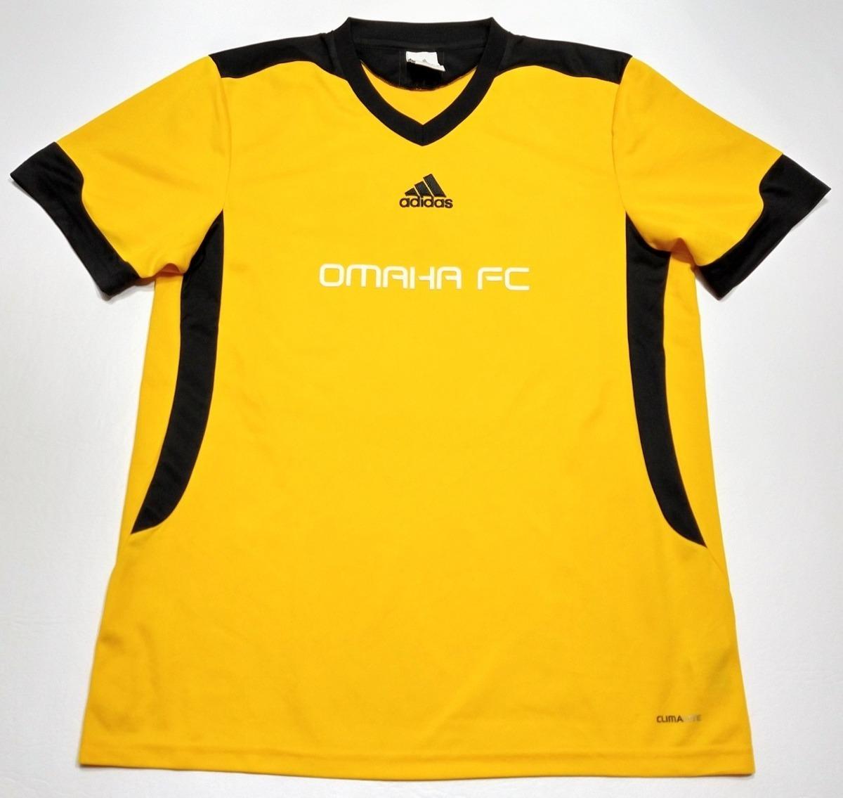 Camiseta adidas Omaha Fc Talle M Amarilla Y Negra Eeuu
