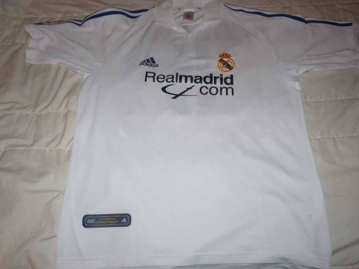 camiseta adidas original real madrid 01-02 zidane sin uso. Cargando zoom. 2614d1eda94ca
