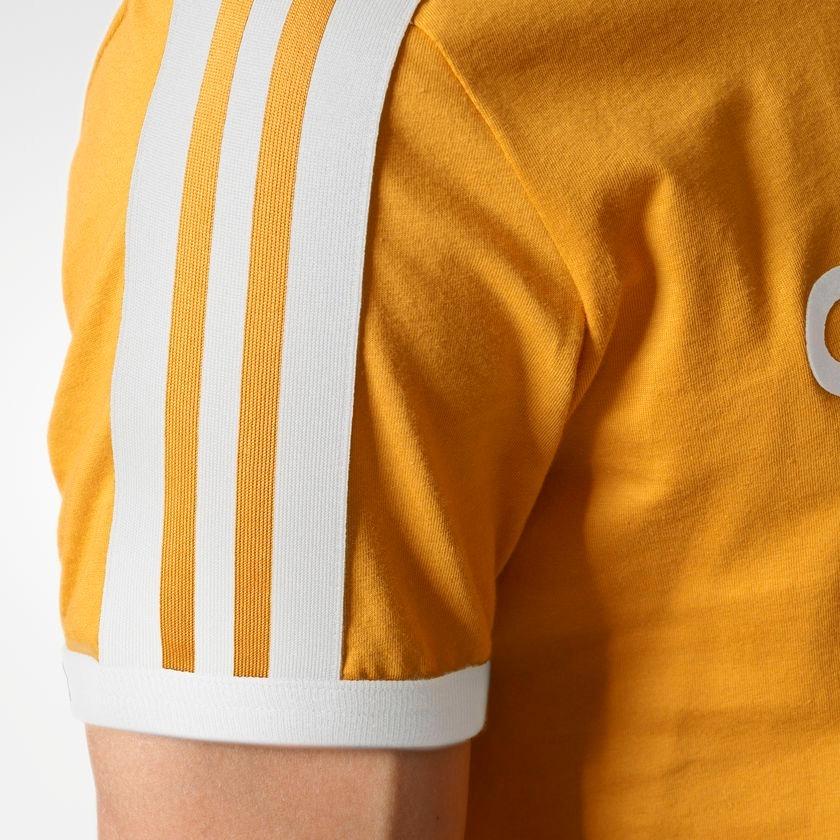 camiseta adidas originals linear amarela - pronta entrega. Carregando zoom. 03677bd4574d3