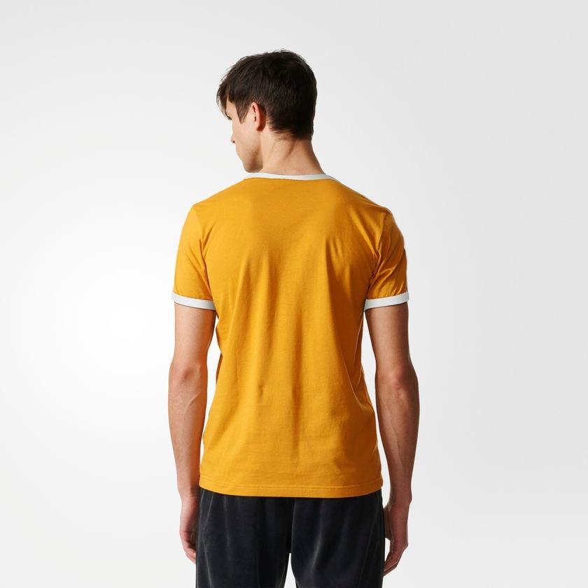 camiseta adidas originals linear amarela - pronta entrega. Carregando zoom. 0e224d61f4aab