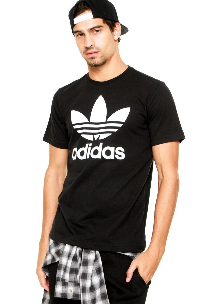 e3df5c09298 camiseta adidas originals trefoil - original bq8641 bq8652. Carregando zoom.