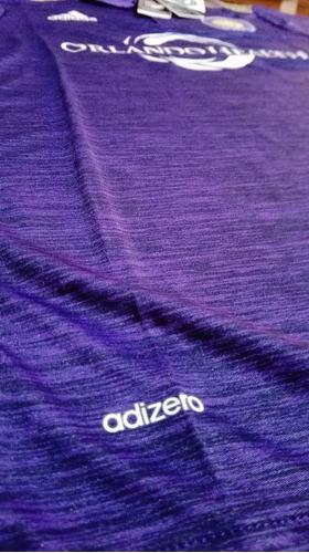 camiseta adidas orlando city sc adizero 17/18.
