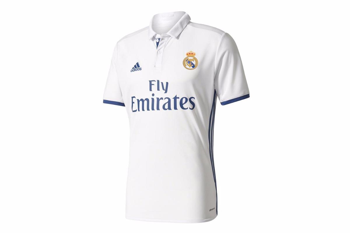 camiseta adidas real madrid oficial 2016 2017 - newsport. Cargando zoom. 2b15e17fc87ae