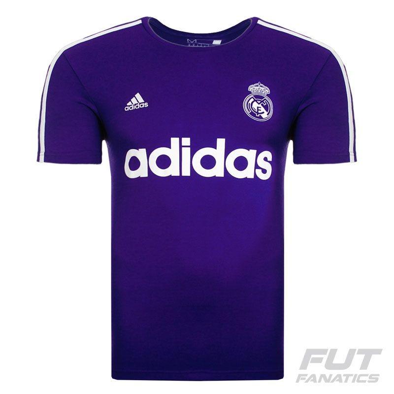 fbebf97b8 camiseta adidas real madrid retro roxa - futfanatics. Carregando zoom.