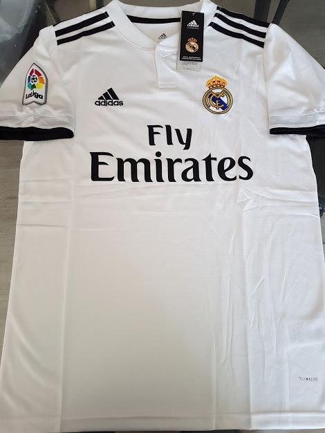 e2f05a6666 Camiseta adidas Real Madrid Titular 2018 19 -   1.092