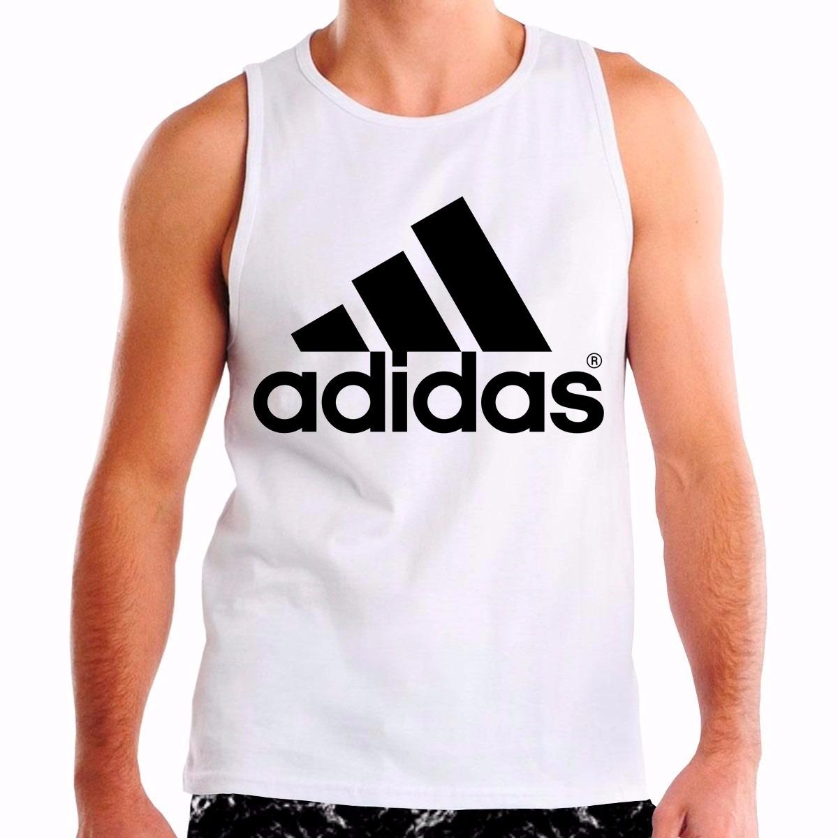 camiseta adidas regata personalizada logo símbolo camisa. Carregando zoom. d8c8a81758f10