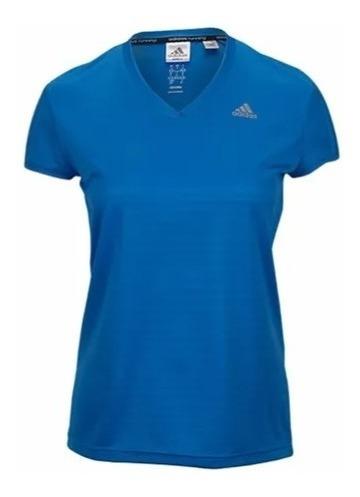 camiseta adidas remera deportiva para dama running mvd sport