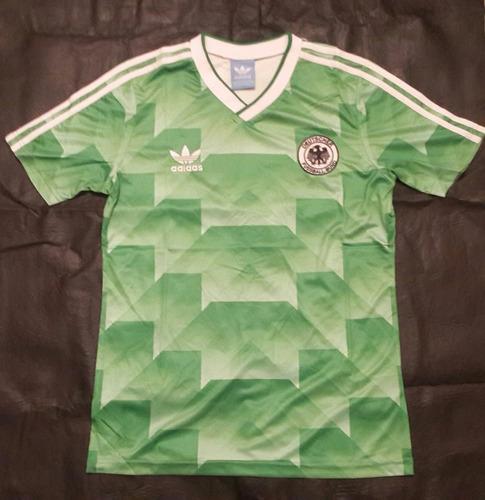 camiseta adidas retro alemania 1990