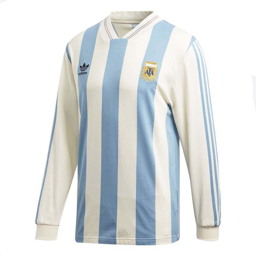 camiseta adidas retro seleccion argentina hombre deprofan. Cargando zoom. 01f7736755653