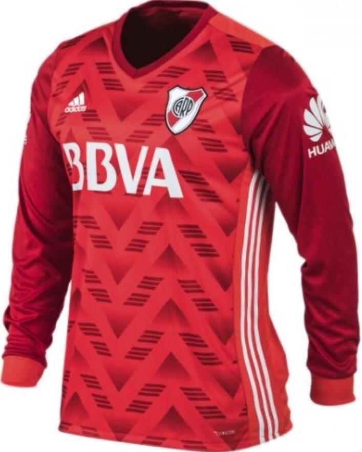 ff2219bbbe91c camiseta adidas river plate alternativa m  largas futbol. Cargando zoom.