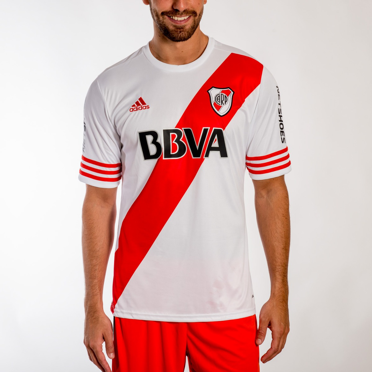camiseta adidas river plate h jsy 2015-s16812- open sports. Cargando zoom. be75d0f5f56b6