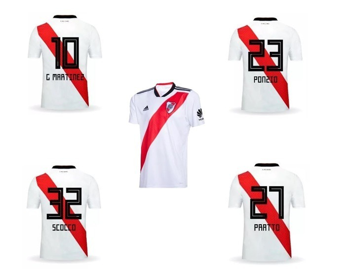 tipografia camiseta argentina 2019