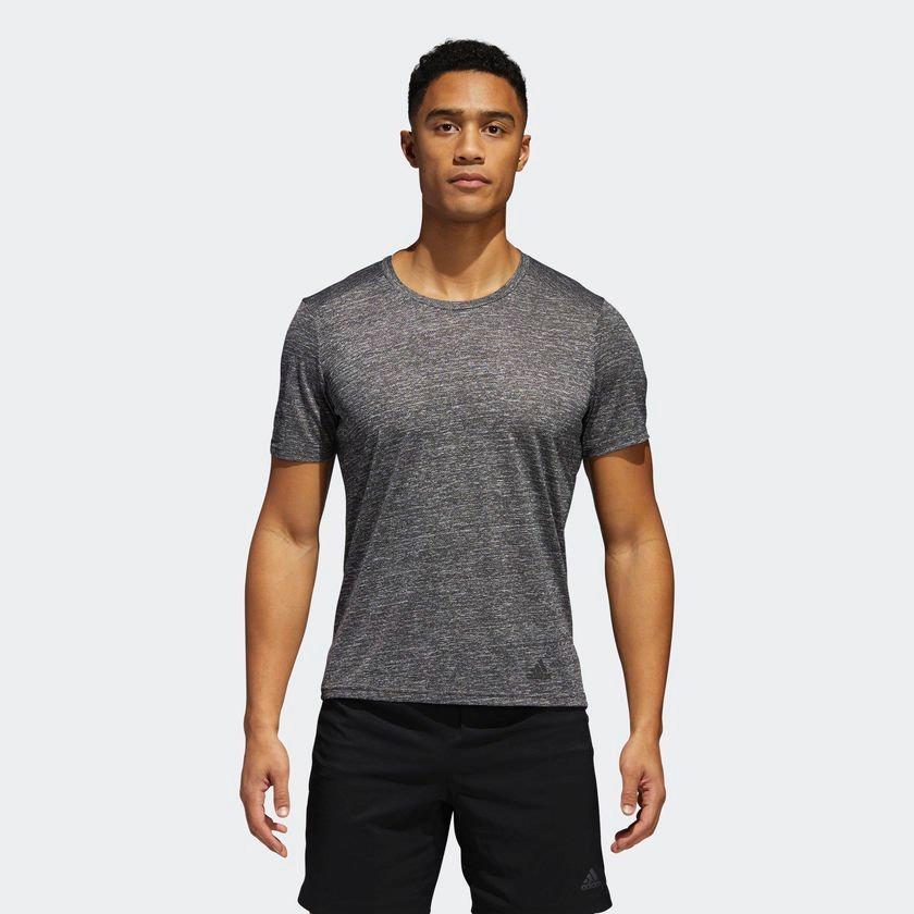 camiseta adidas run tee masculina cv3886 - p - cinza. Carregando zoom. 9cfdb0735a3c5
