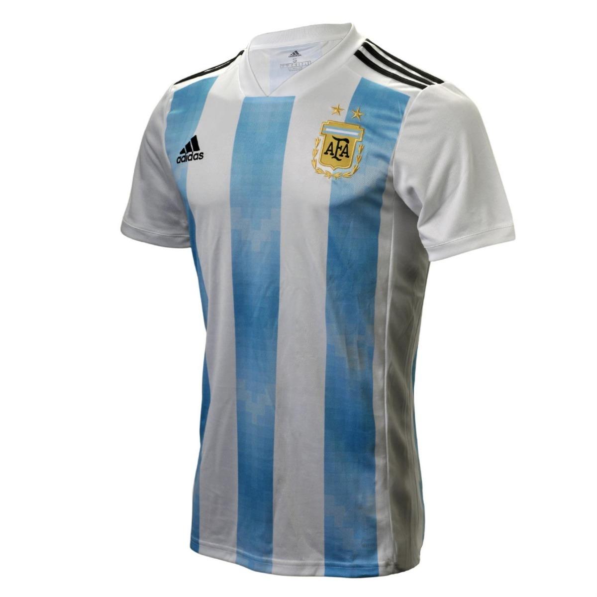 camiseta adidas seleccion argentina 2018 - infantil. Cargando zoom. bdfd7d27039