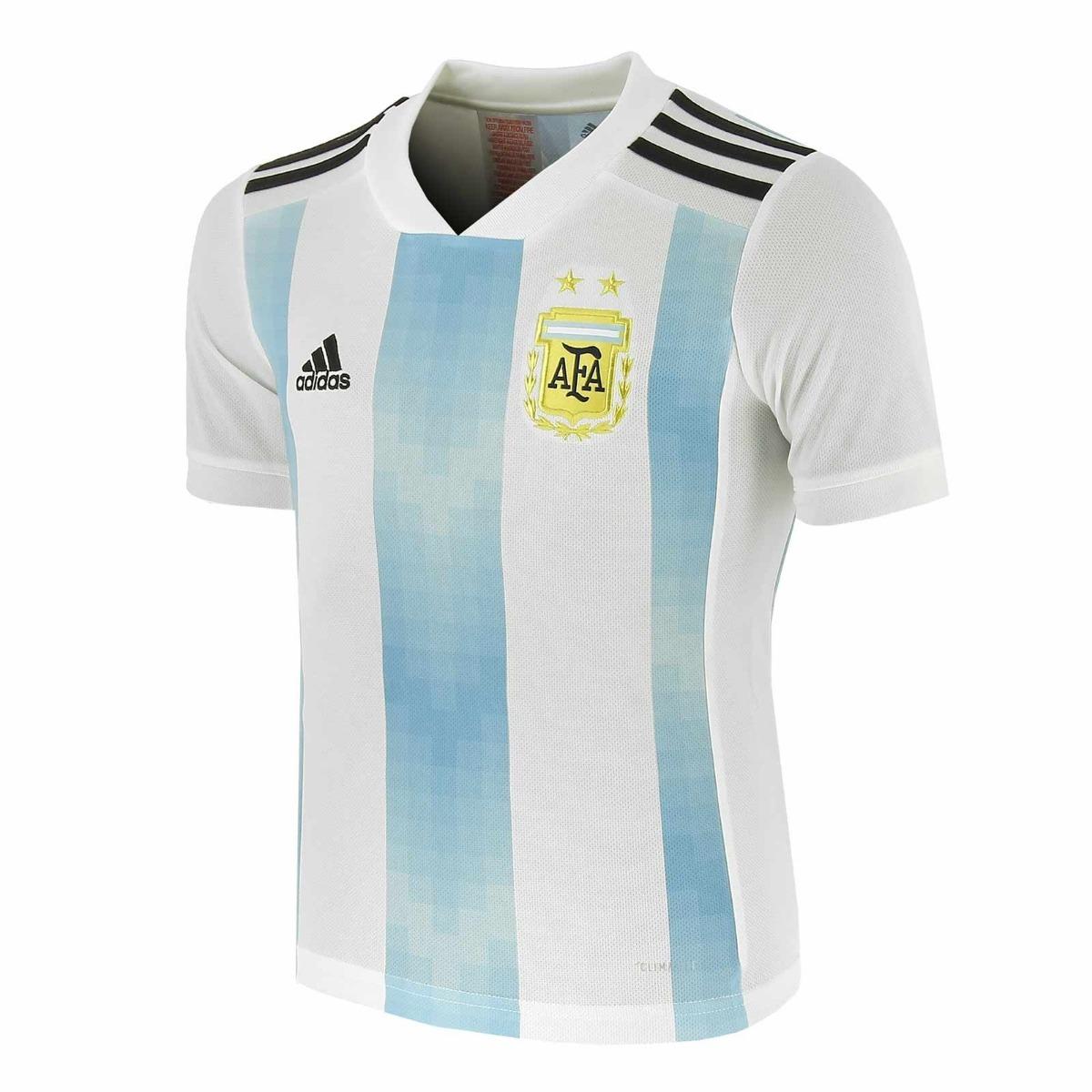 554b381b21a9d camiseta adidas selección argentina titular 2018 - original. Cargando zoom.
