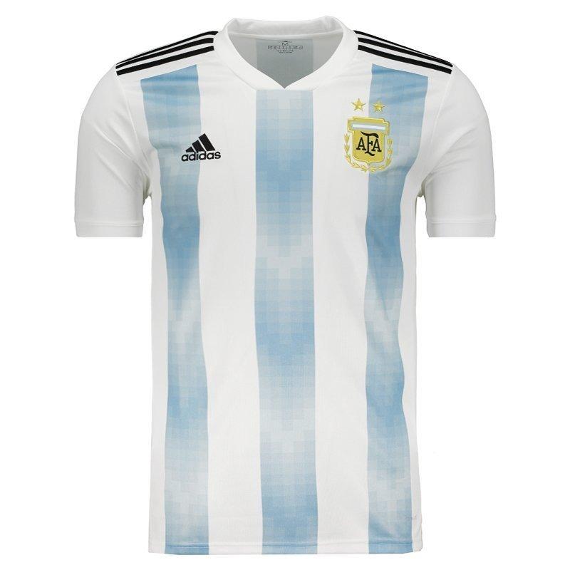 camiseta adidas seleção da argentina copa 2018 promoção br2. Carregando zoom.  c6dd1a6faa1270 ... cdfaf9233b50f