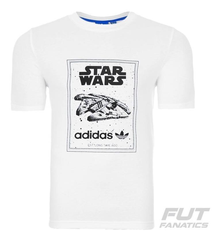 buscar genuino proveedor oficial diversificado en envases Camiseta adidas Star Wars Millennium Falcon Juvenil - R$ 59,90 em ...