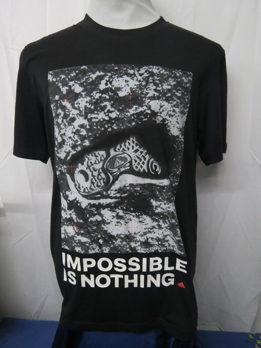 Muy enojado Proceso de fabricación de carreteras amistad  Camiseta adidas Talla Xl Imposible Is Nothing - $ 8.999 en Mercado ...