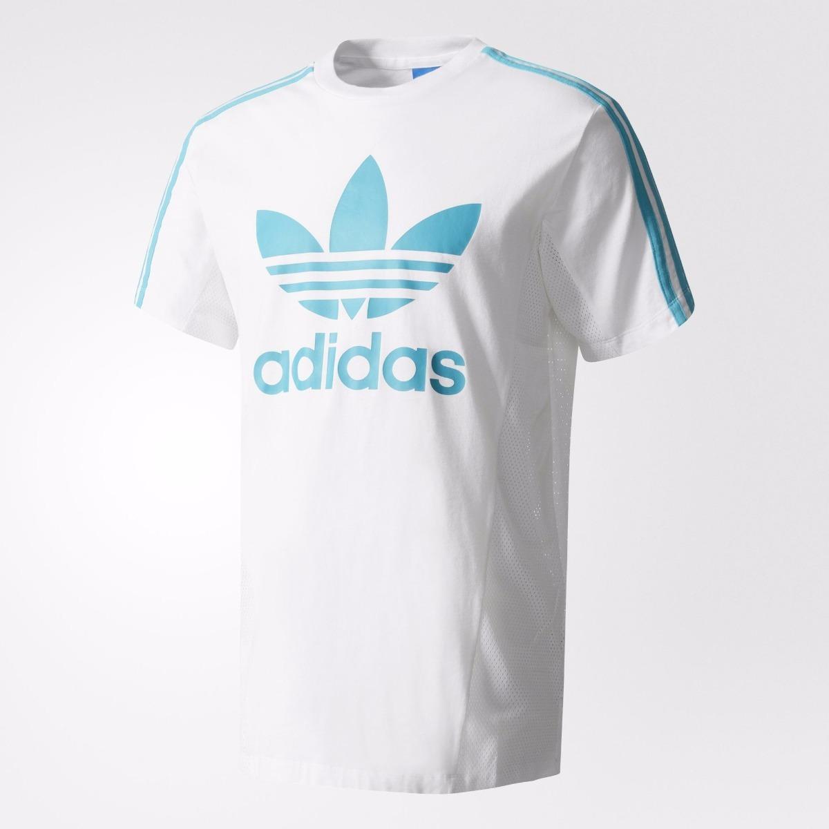 camiseta adidas trefoil los angeles original novo. Carregando zoom. 9618f979b9f12