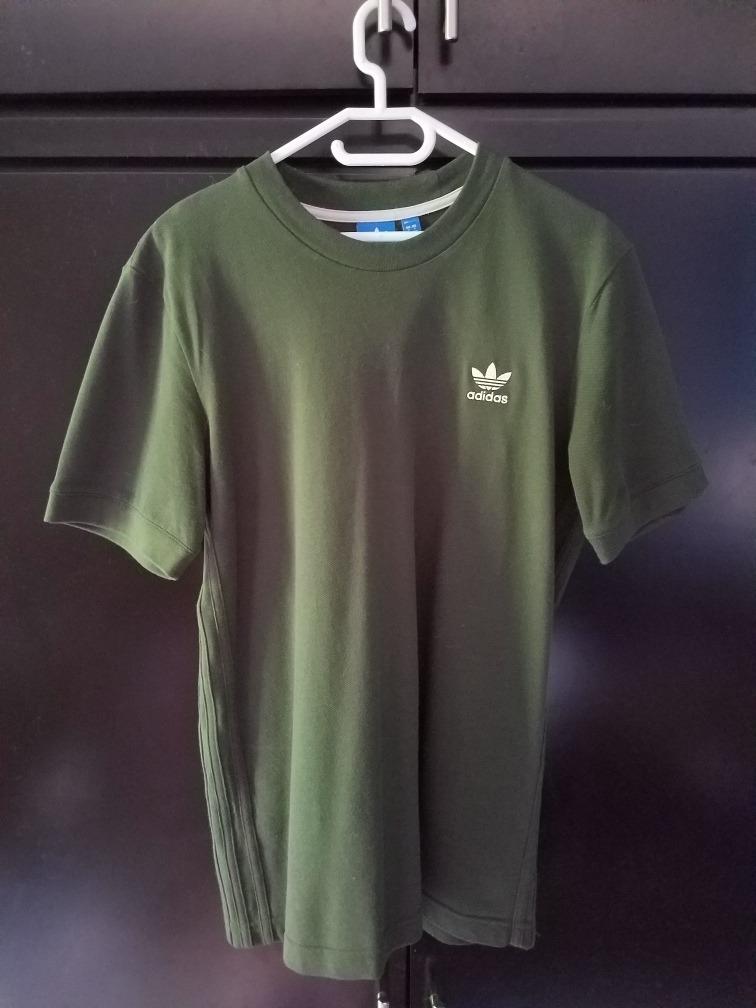 venta minorista obtener online diferentemente Camiseta adidas Verde Militar