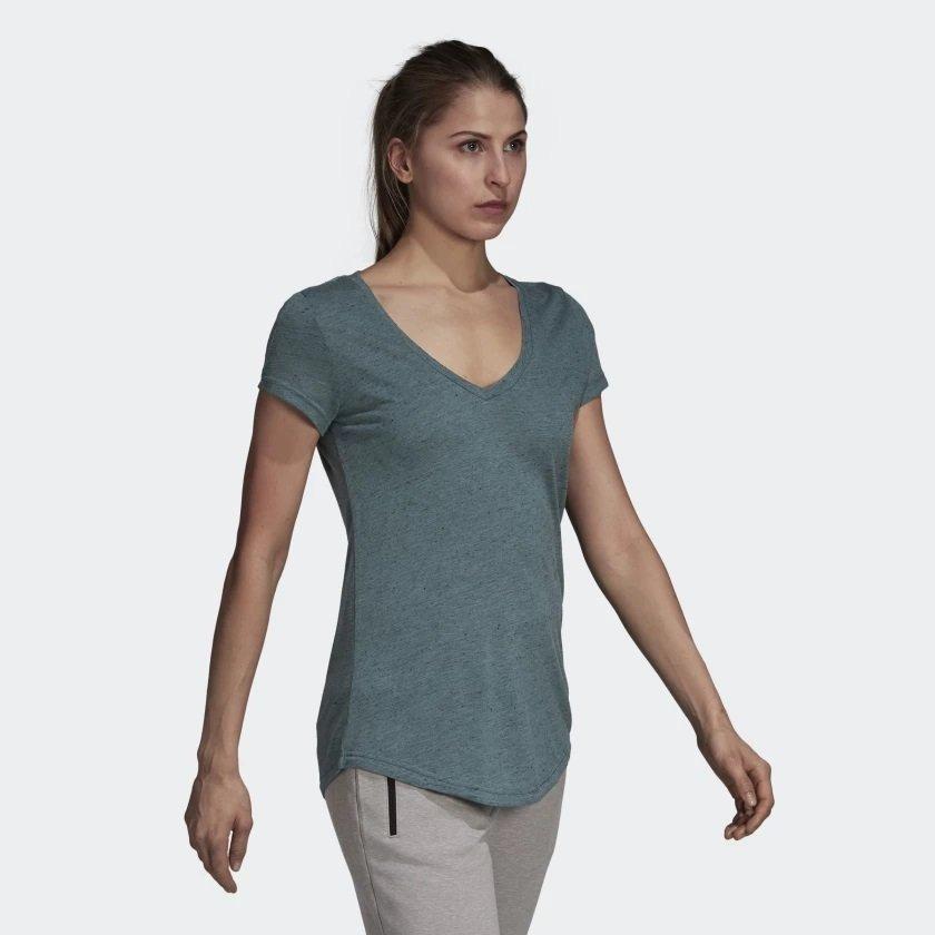 85937ffcb8769 camiseta adidas winners feminina cz2922 - m - verde. Carregando zoom.