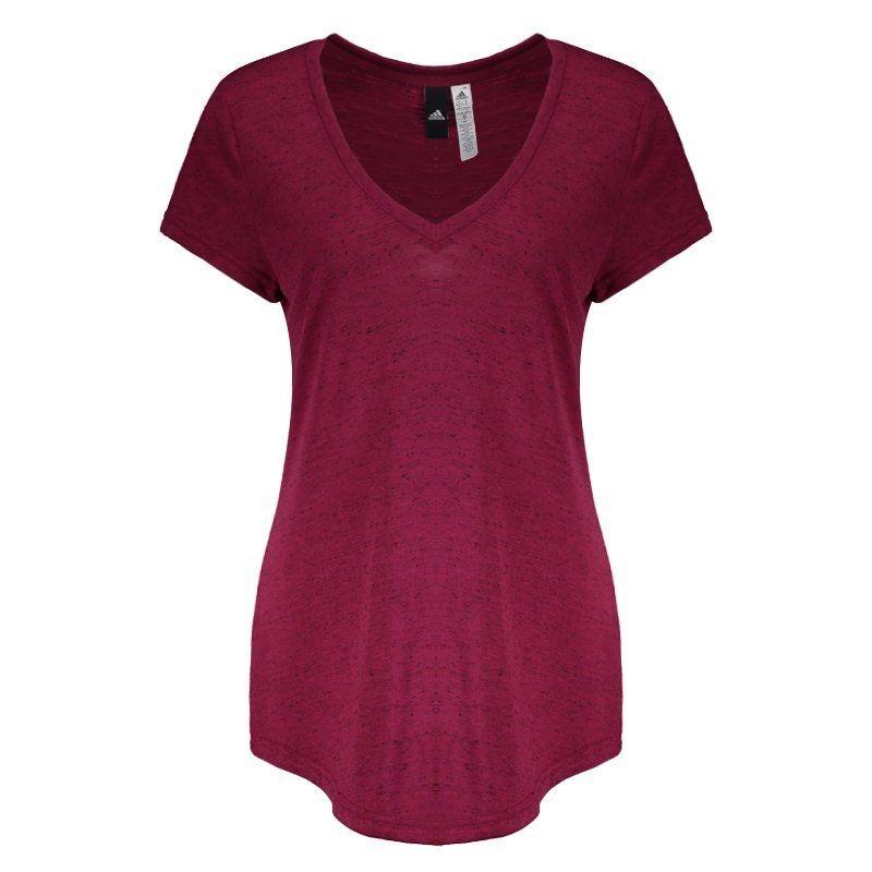 f743976d934d2 camiseta adidas winners feminina vinho. Carregando zoom.