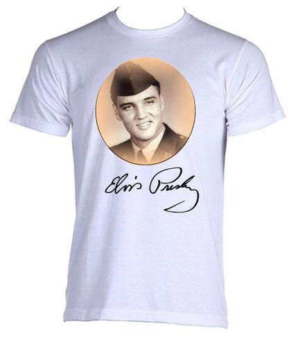 camiseta adulto elvis presley - rock clássico - p ao gg - 08