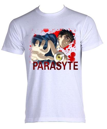 camiseta adulto kiseijuu: sei no kakuritsu - parasyte 1