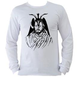 7adf2f9ba Túnica Wicca Bruxa - Camisetas Manga Longa no Mercado Livre Brasil