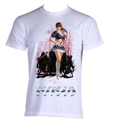 camiseta adulto ninja gaiden 10