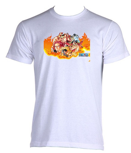 camiseta adulto one piece anime - 007