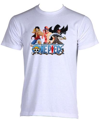 camiseta adulto one piece anime - 010