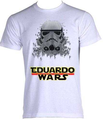 camiseta adulto personalizada nome star wars 01