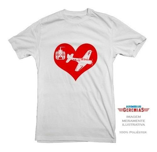 camiseta adulto piloto kit 5 peças