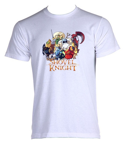 camiseta adulto shovel knight - 001