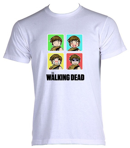 camiseta adulto the walking dead daryl 019 - do  p ao gg