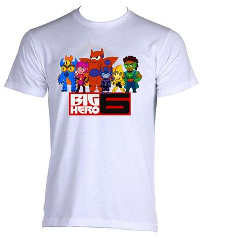 camiseta adulto unissex baymax big hero bighero 02