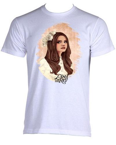 camiseta adulto unissex lana del rey pop cantora 09