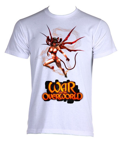 camiseta adulto unissex war for the underworld 04