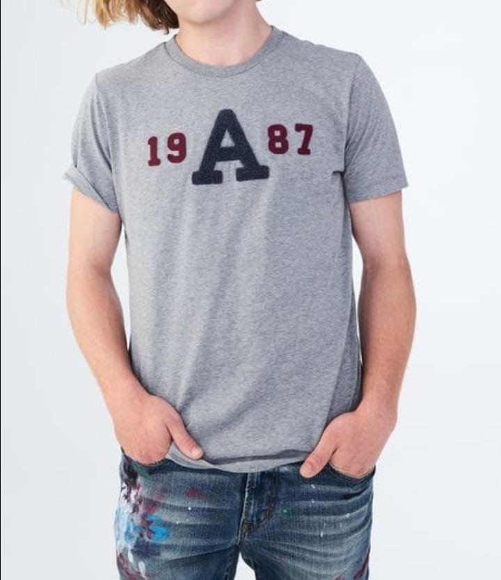 13ecca9c60 Camiseta Aeropostale 19 A 87 - R$ 89,99 em Mercado Livre