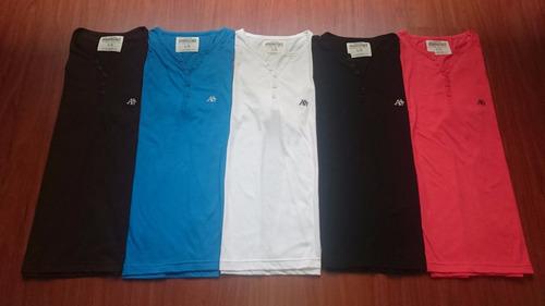 camiseta aeropostale abercrombie y hollister 50% off