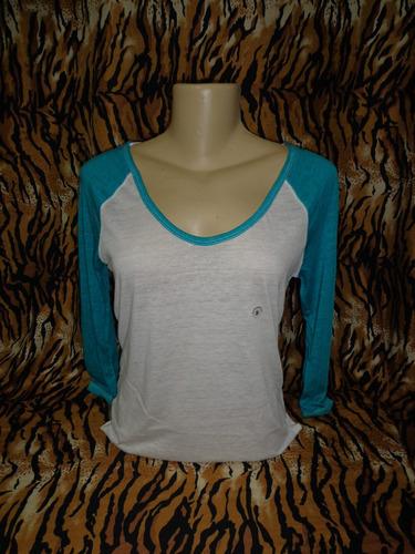 camiseta aeropostale feminina